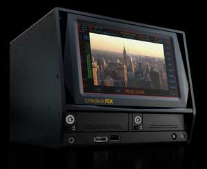 Cinedeck RX Delivers Tapeless Record, Monitoring and Playback WorkFlow 1