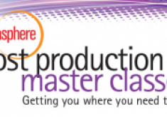 Speaker Line-Up Announced for Post Production Master Class