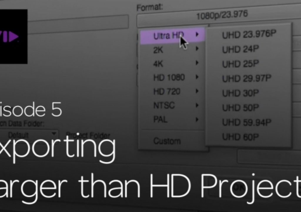 Get Started Fast with Media Composer for High-Res Workflows—Part 5 1