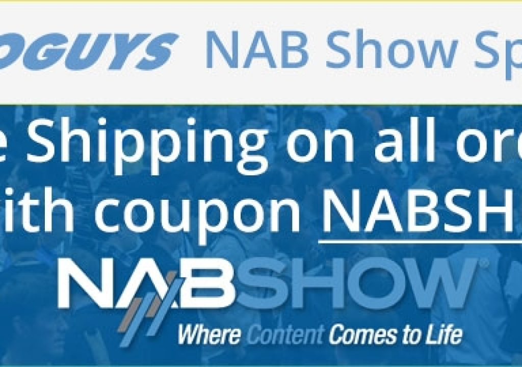 Videoguys' NAB Wish List 3