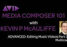 Media Composer 101 – Advanced – Editing Music Videos Part 3