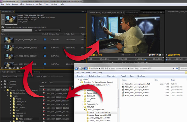Native Format Editing in Adobe Premiere Pro 1