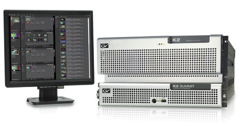 Grass Valley Delivers Full AVC-Intra Workflow Solutions for News, Production and Playout Application 1