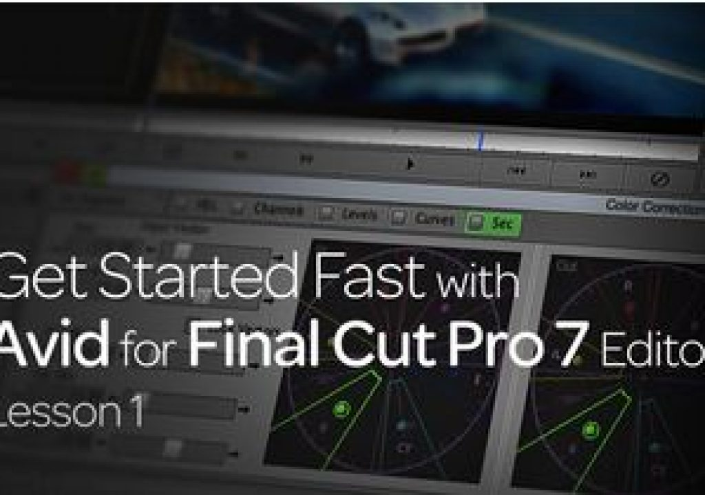 Get Started Fast with Avid for Final Cut Pro 7 Editors : Lesson 1 1