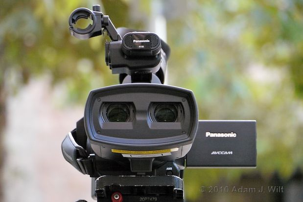 Hands-on with the Panasonic AG-3DA1 S3D Camcorder 29