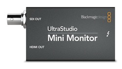 Hands-on with the UltraStudio Mini Monitor 5