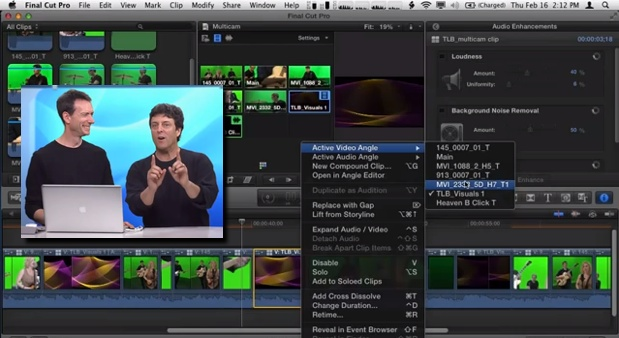 Multicam Editing in Final Cut Pro X: Trim 1