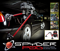 Innovation Key To All-New Spyder Pod Vehicle Camera Mounting System 1