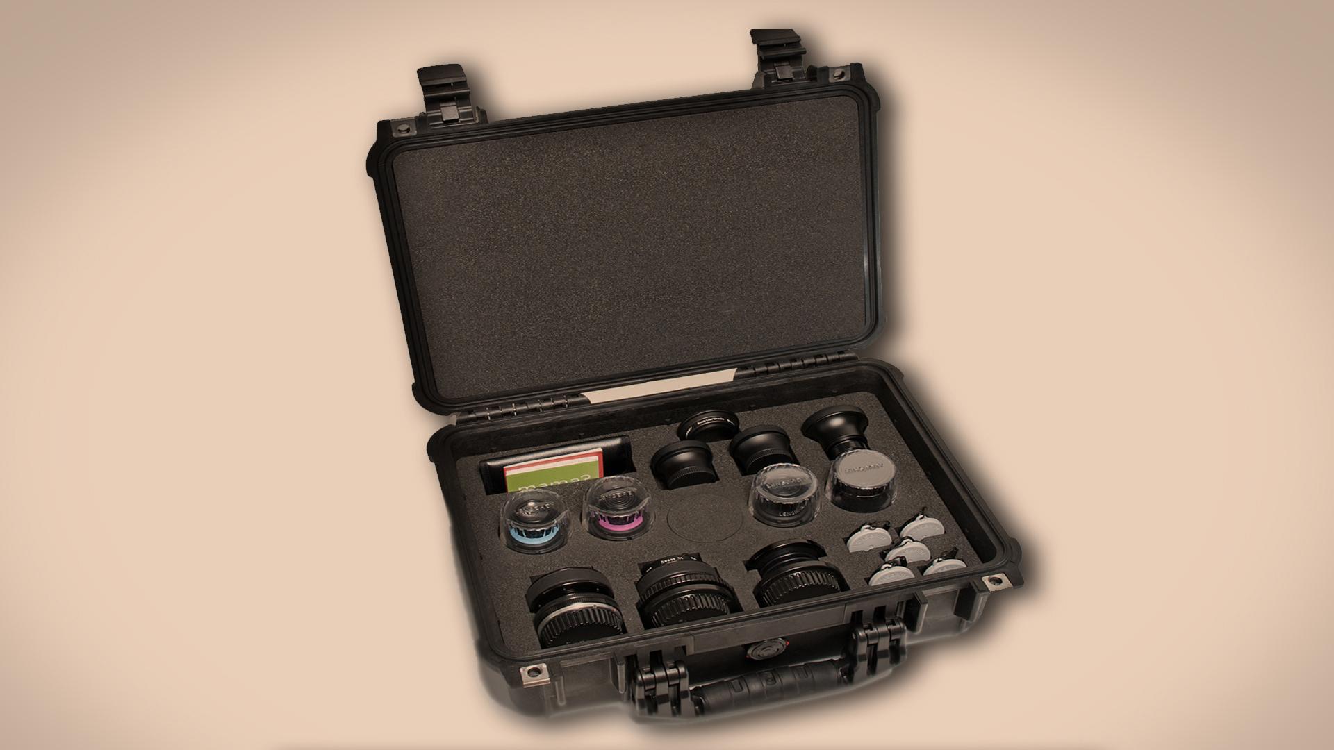HDSLRShooter at NAB 2013: Lensbaby Movie Maker's Kit 5