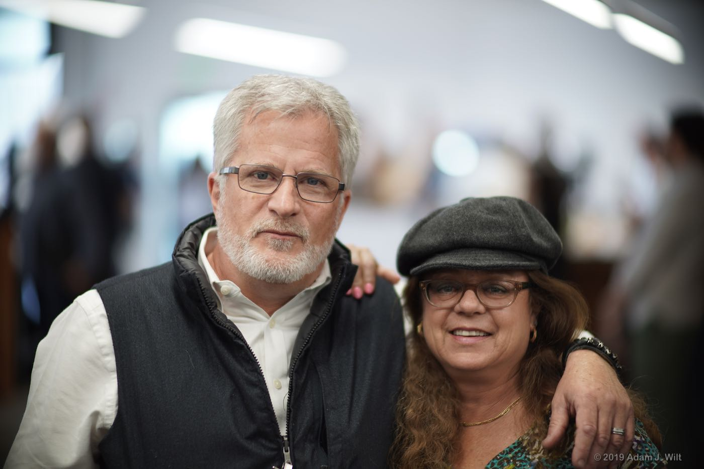 Canon's Tim Smith and Stephanie Franz at the PNW Lens Summit, 85mm Sumire Prime @ T1.3