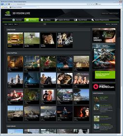 NVIDIA launches online 3D Vision community 3