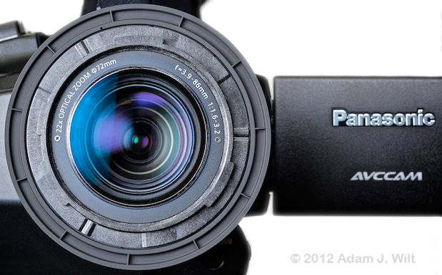 "Review: Panasonic AG-AC160 and AG-HPX250 1/3"" 3-MOS camcorders 103"