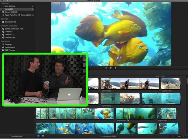 Multi-Camera Import in Final Cut Pro X 1