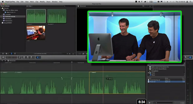 Audio Editing in FCP X 1