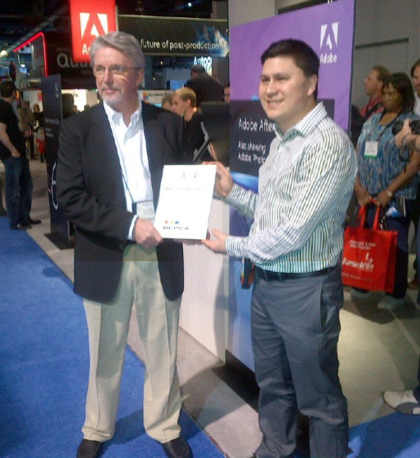Adobe wows NAB 2012 attendees with Creative Suite 6 Production Premium, secures 5 prestigious awards 1