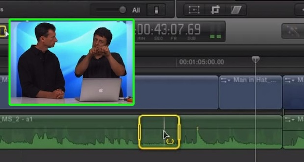 Removing Unwanted Audio in Final Cut Pro X 1