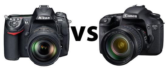 Nikon D300S vs Canon 7D Specdown 3