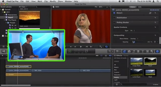 Compositing in FCP X 1