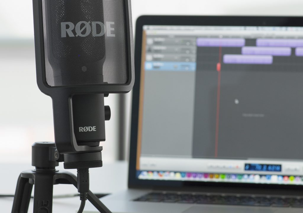 Enjoy Studio-quality recording on the go with the new RØDE NT-USB 3