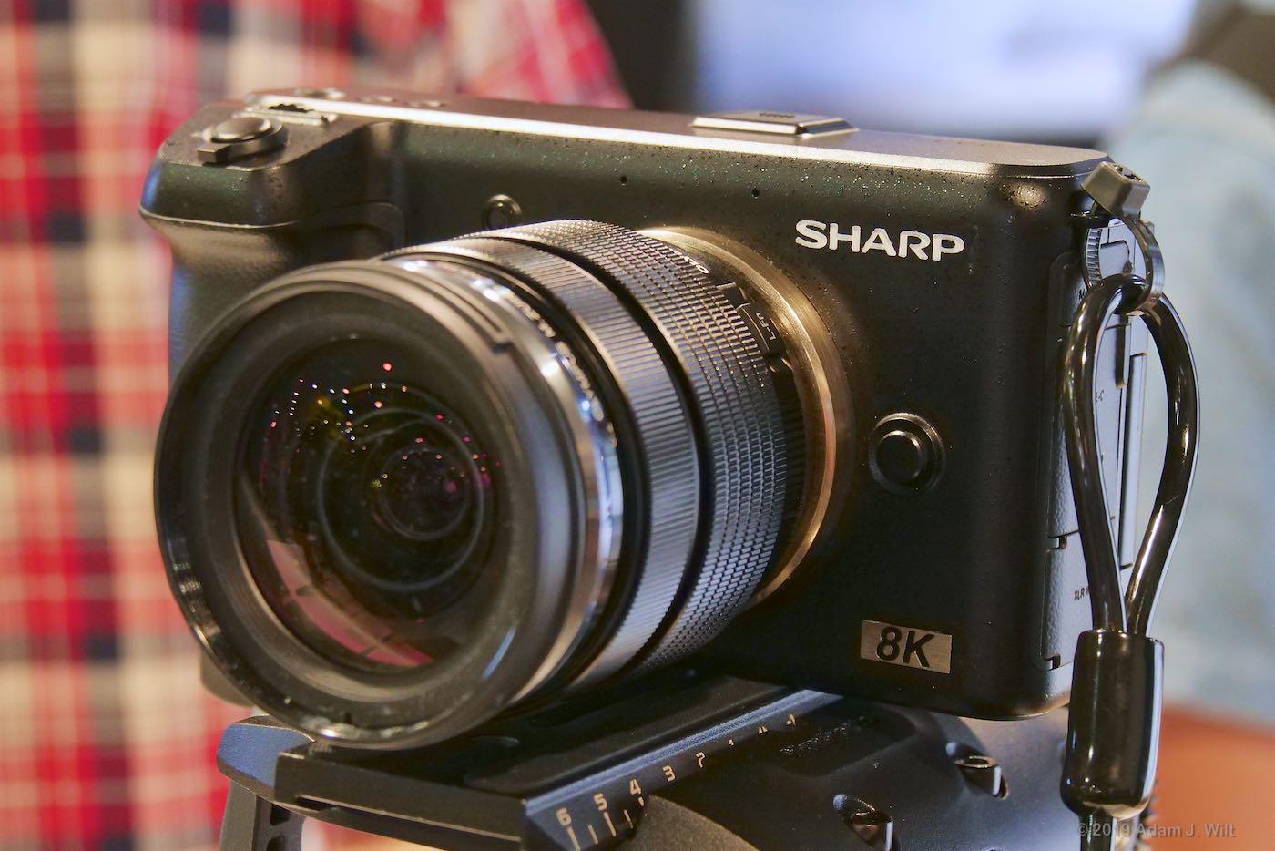 Sharp 8K MFT camcorder