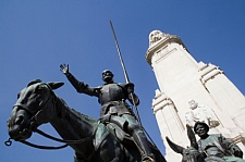 If it's culture you want...! Cervantes Monument, Madrid. © Ken Sorrie - iStockphoto