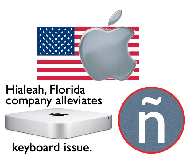 Relief after Apple's segregation of keyboards in the USA 1