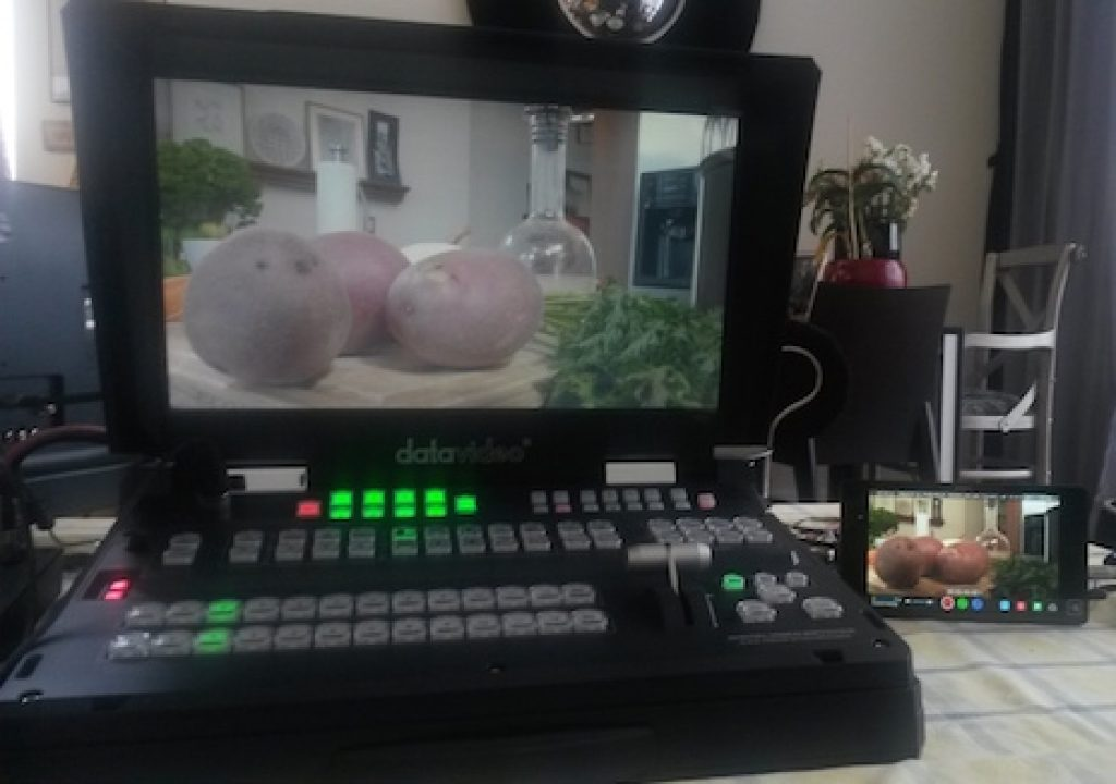 In Guatemala, Shogun reverses 29.97PsF pulldown for 8-camera live-switched show via Datavideo HS2800 17