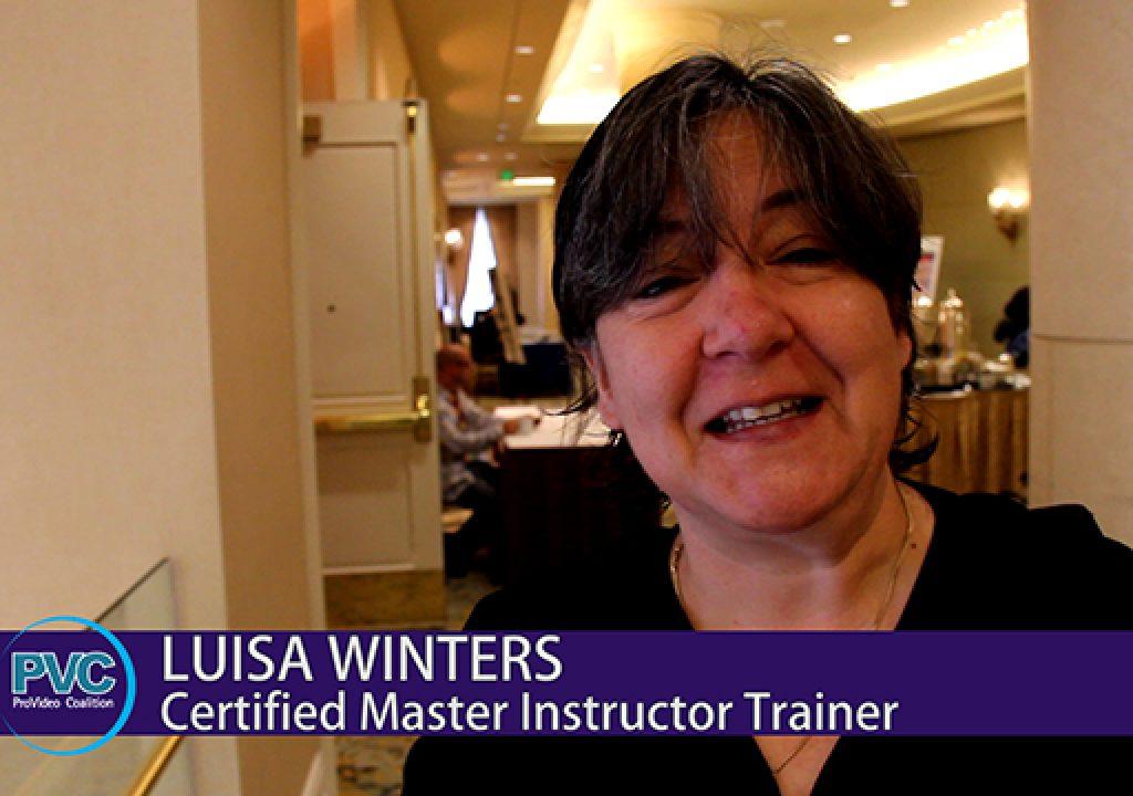 Premiere Pro World Conference: Luisa Winters 1