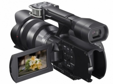 Sony NEX-VG10 interchangeable lens camcorder announced 1