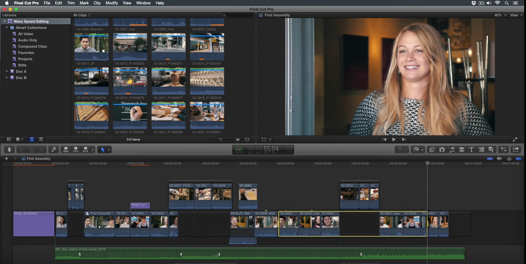 Even Faster Snapshots in Final Cut Pro X 11