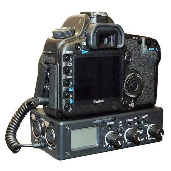 Beachtek announces the DXA-5D XLR adapter for the Canon 5D MKII ! 1