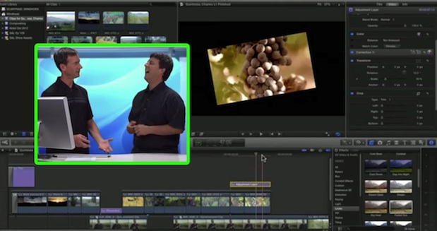 Adjustment Layers in Final Cut Pro X 1