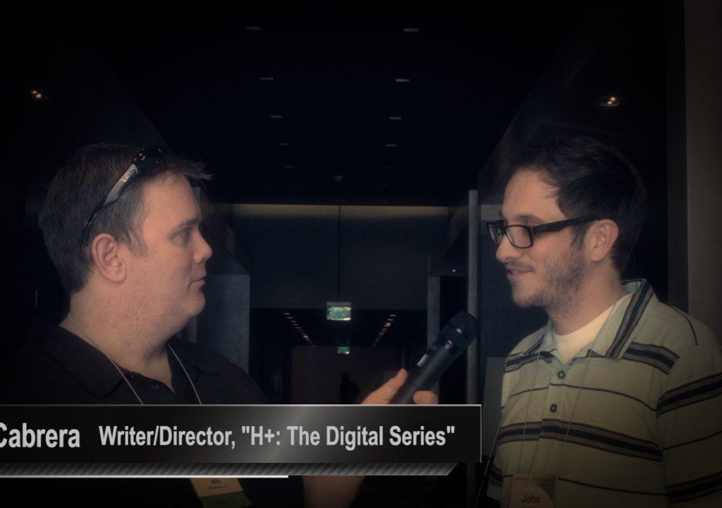 Transvergence Summit:  Actor/Writer/Director:  John Cabrera 1