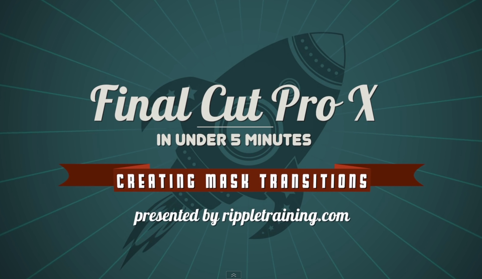 Creating Mask Transitions in Final Cut Pro X 8