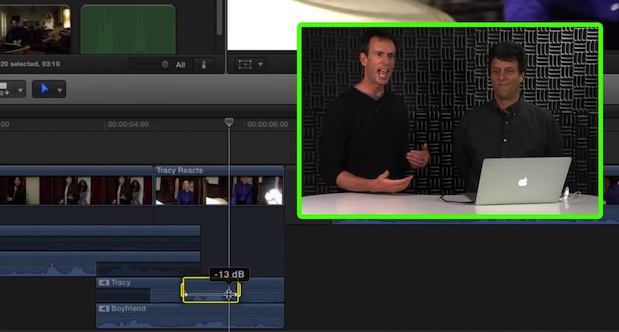 Audio Component Editing in Final Cut Pro X 1