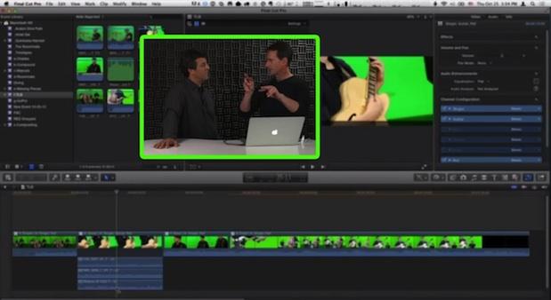 Multicam Audio Component Editing in Final Cut Pro X 1