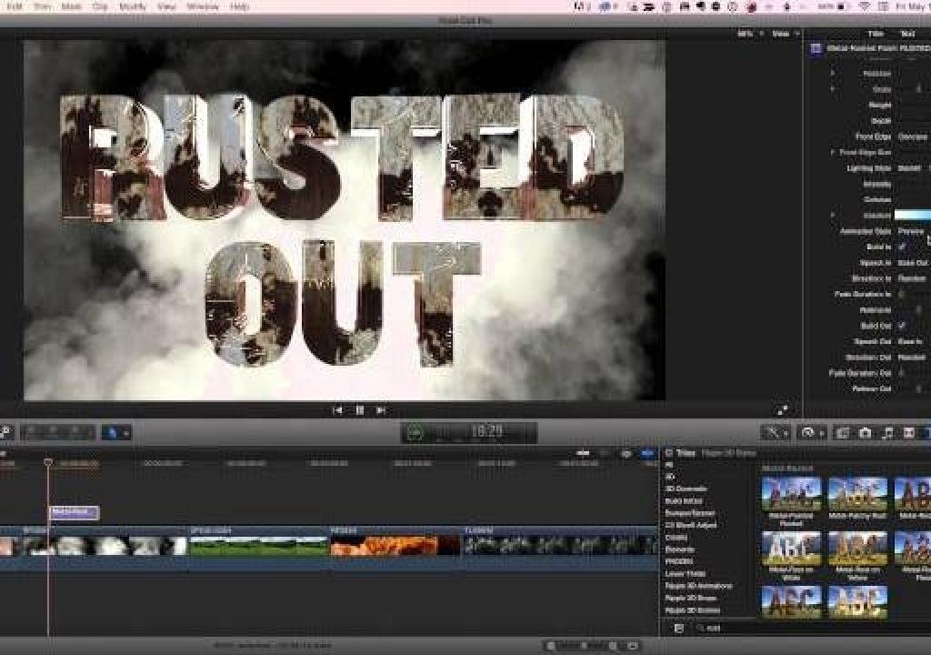 3D Title Plugins for Final Cut Pro X 1