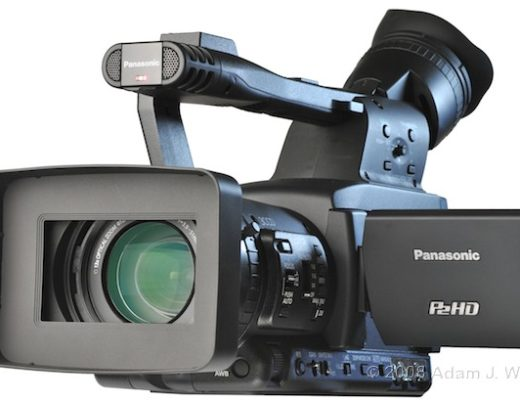 """Review: Panasonic AG-HPX170P 1/3"""", 3CCD P2 Camcorder 24"""