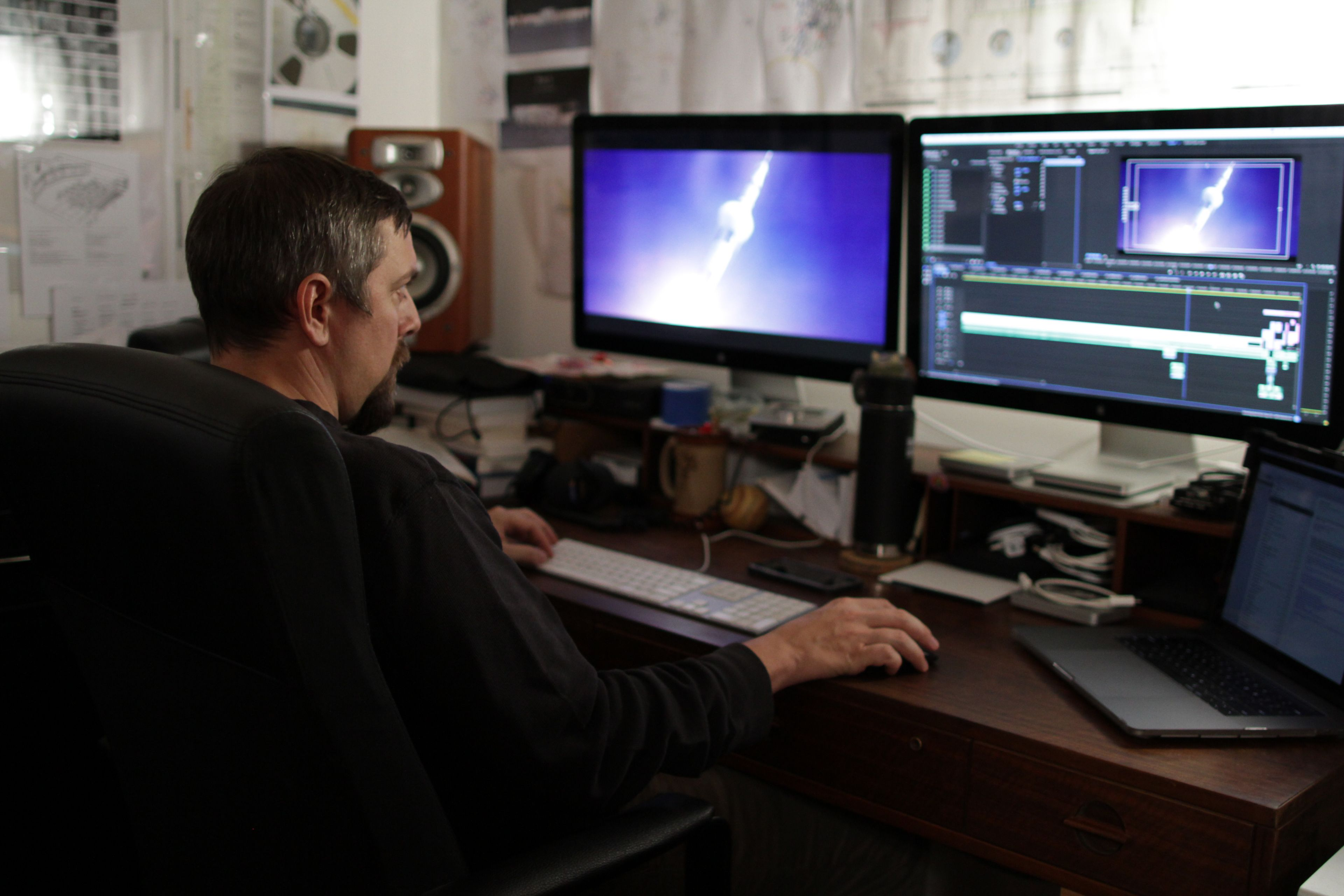 """ART OF THE CUT with doc director/editor Todd Miller on """"Apollo 11"""" 33"""