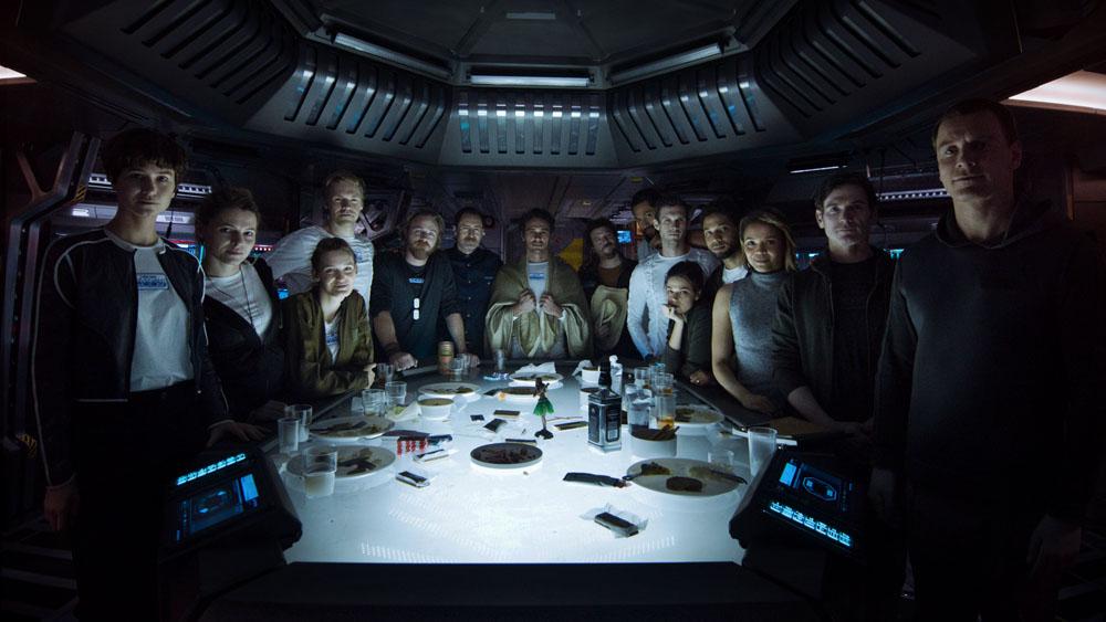 ART OF THE CUT on Ridley Scott's Alien: Covenant 13