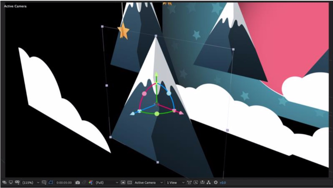 After Effects gizmo