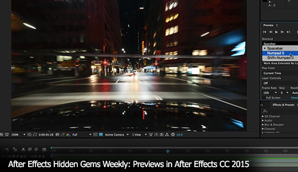 After Effects Bootcamp for Avid Editors - Part 2 6