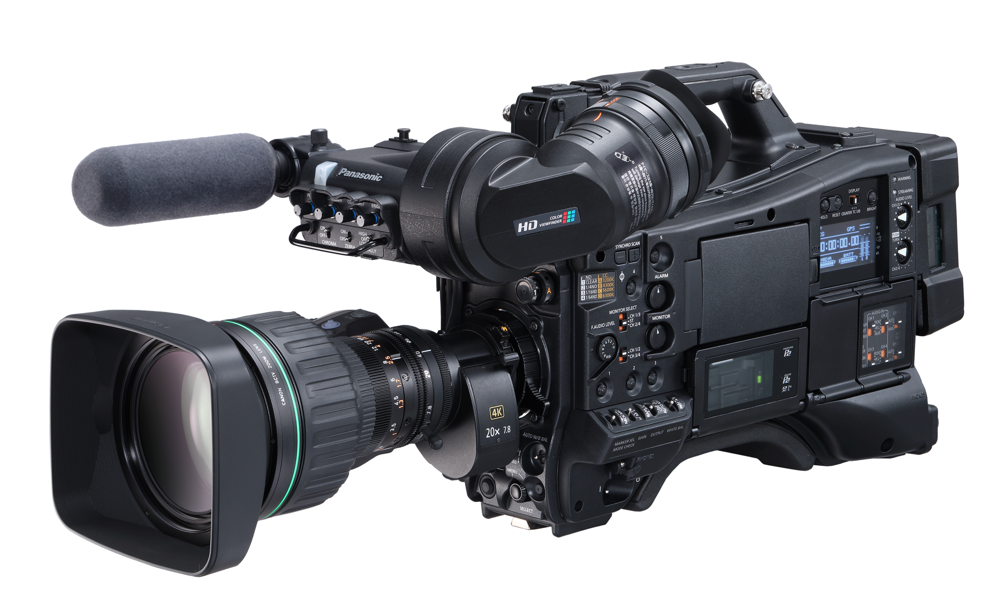 Panasonic AJ-CX4000 4K/HDR Camcorder Available In Late December