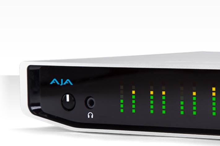 AJA Releases Io 4K Plus with Thunderbolt 3