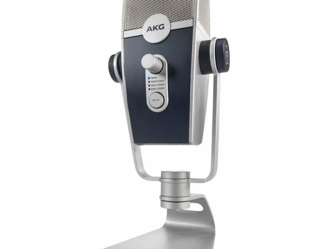 First look: AKG Lyra microphone, USB-C/vintage/multi-pattern/multiplatform 5