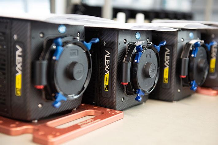 ARRI ALEXA Mini LF camera ships worldwide to inspire cinematographers
