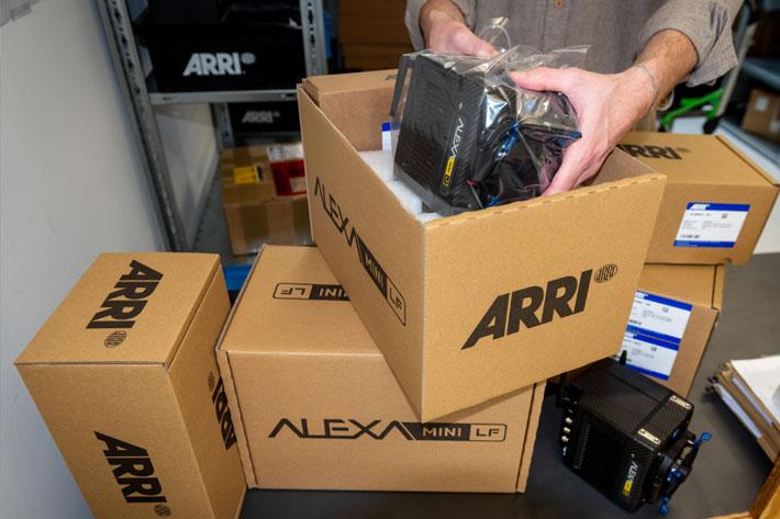 ARRI ALEXA Mini LF camera ships worldwide to inspire cinematographers 6