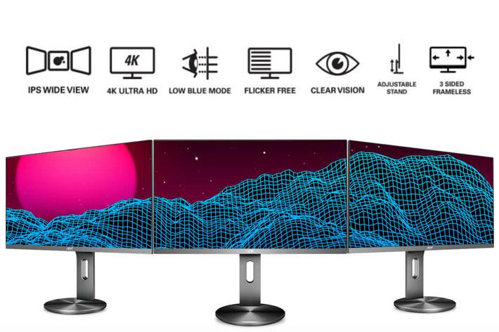 AOC U2790PQU: a new 4K UHD monitor for video editors on a