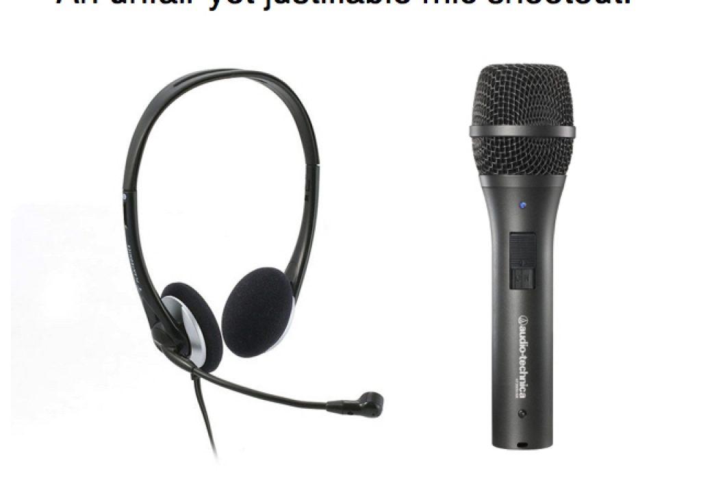 An unfair yet justifiable mic comparison: AT2005USB versus Plantronics .Audio 326 15