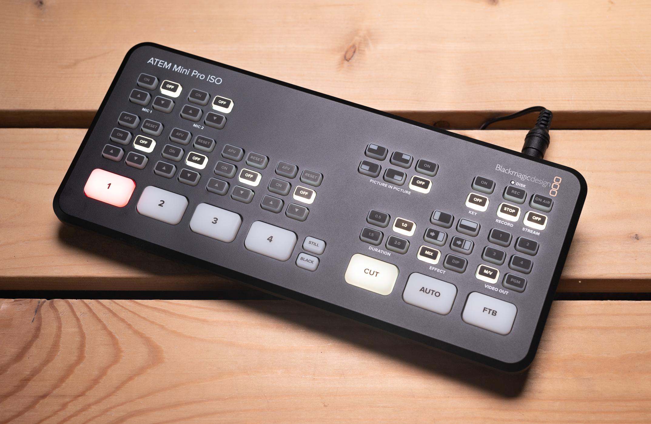 Blackmagic Design Atem Mini Pro Iso Review